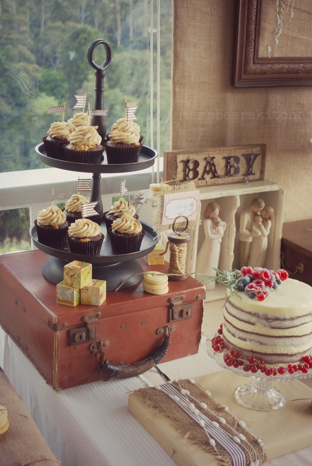 Burlap And Lace Baby Shower Baby Shower Ideas Themes