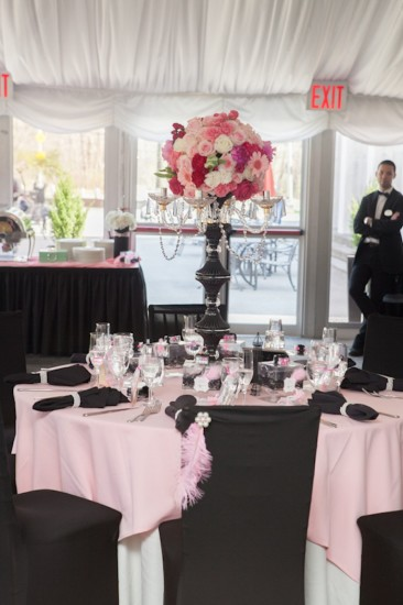 Pink Parisian Themed Baby Shower Baby Shower Ideas