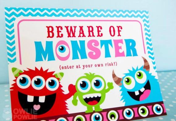 Girl Monster Bash Baby Shower Baby Shower Ideas Themes
