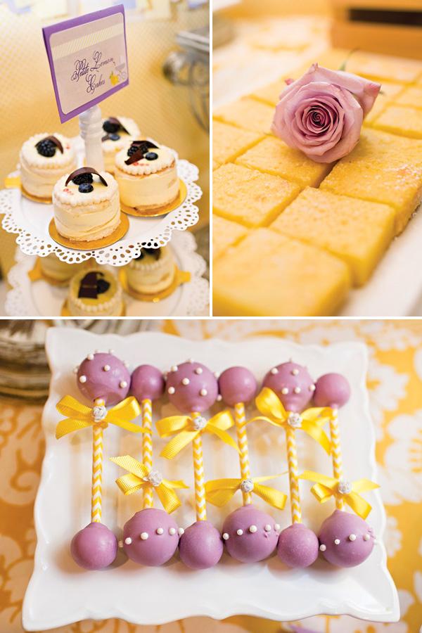 Sweet Lemon Amp Lavender Baby Shower Baby Shower Ideas