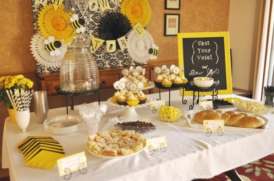 What Will It Bee Baby Shower Baby Shower Ideas Themes