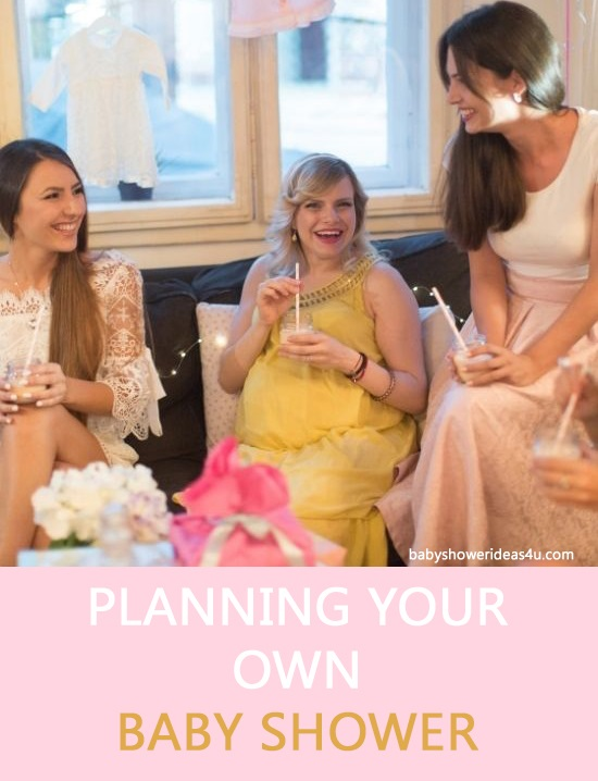 Can a Mom-To-Be Throw Her own Baby Shower