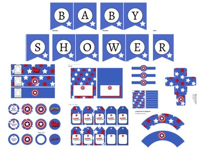 Captain-America-Baby-Shower-Pack
