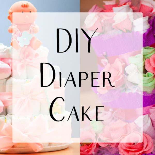 Diy baby shower diaper cake