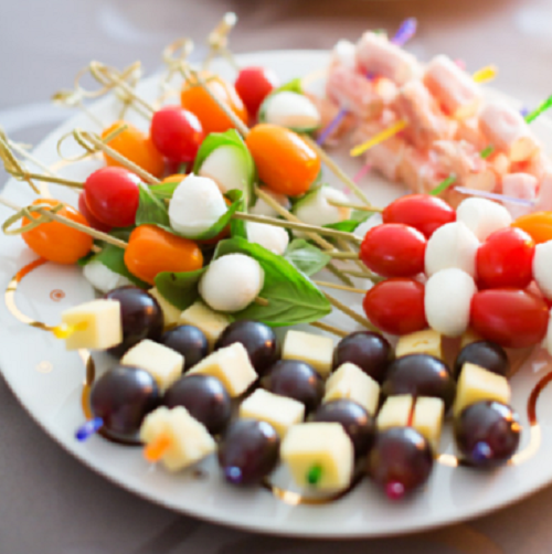 easy and simple to serve baby shower appetizer fingerfood