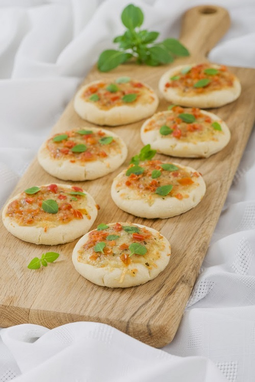 pizza bites finger food