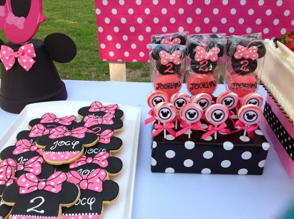 minnie mouse cute sugar cookies