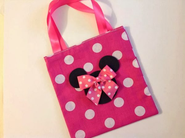 minnie mouse ribbon kids bags