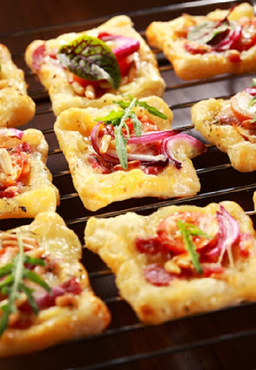 simple-baby-shower-food-ideas-puff-pastry-with-cheese-tomato-and-vegetables