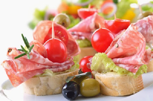 simple-baby-shower-food-ideas-italian-salami-and-ripe-cherry-tomato-snack
