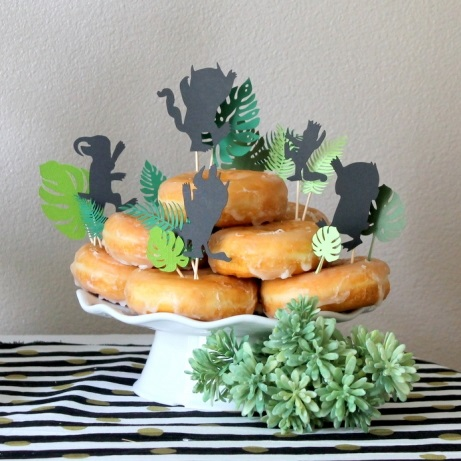 where the wild things are baby shower treat toppers decoration