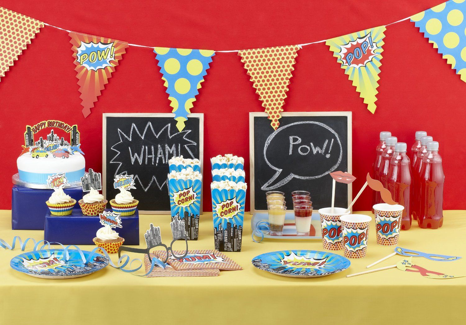 superhero baby shower theme ideas for gender neutral, boys, girls, gender reveal parties