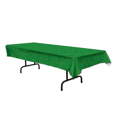 grass tablecloth