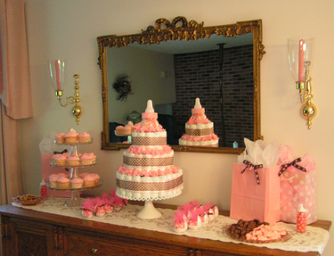 Pink Baby Shower Party