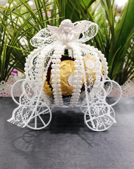 princess carriage Cinderella pumpkin lace