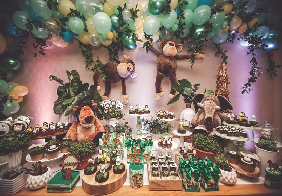 Adorable Monkey Themed Baby Shower Ideas