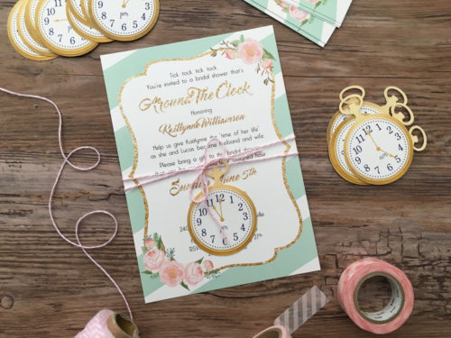 around-the-clock-invitation-mint-stripe-with-peonies