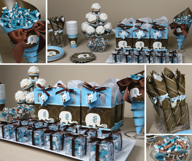 elephant baby shower ideas for boys and girls