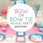 Beau or Bow Gender Reveal Baby Shower