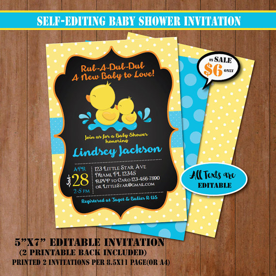 chalkboard-rubber-duck-baby-shower-invitation