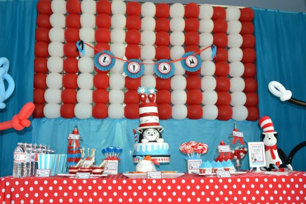 Dr Seuss Themed Baby Shower Ideas