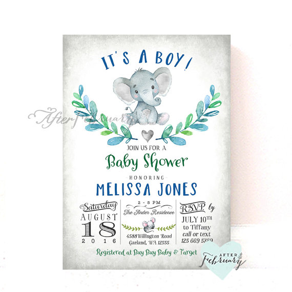 elephant-baby-shower-invitation-boy-baby-shower-invitation-little-peanut