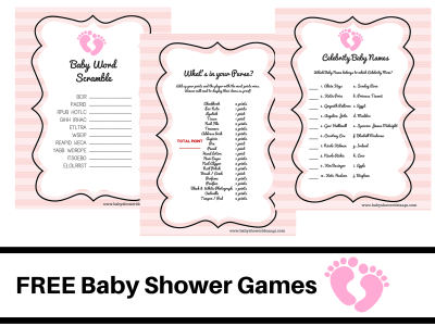 FREE-PRINTABLE-BABY-SHOWER-GAMES-baby-word-scramble-baby-celebrity-whats-in-your-purse-pink-angel