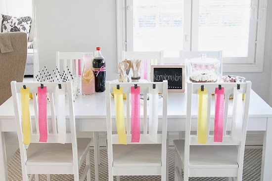 Funky and Modern Baby Shower Celebration
