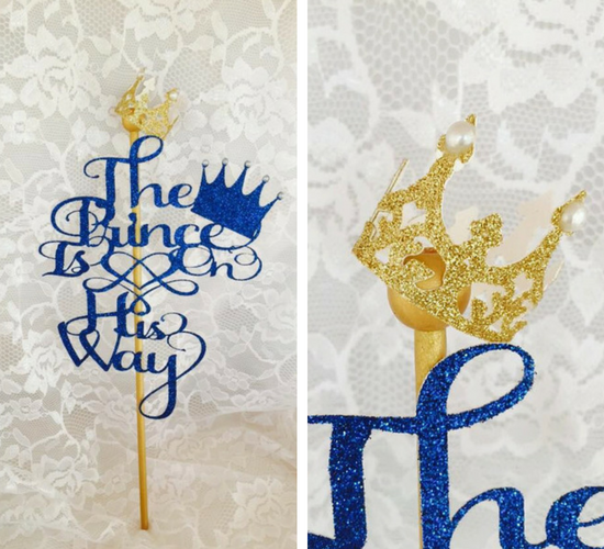 gold-little-prince-baby-shower-cake-toppers