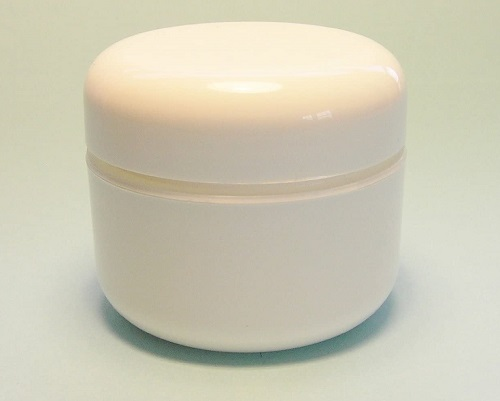 Home made body cream container