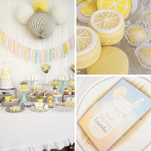 lemon-sunshine-baby-shower-party