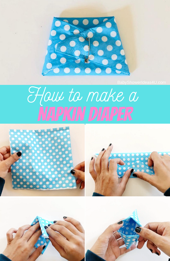 Making a Napkin Diaper