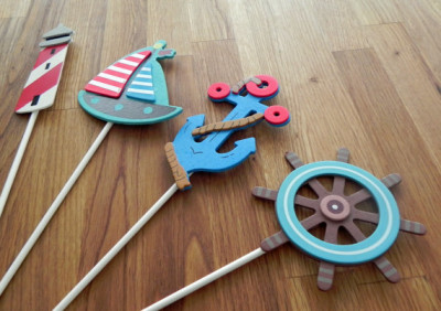 Nautical Shapes - Cake Toppers