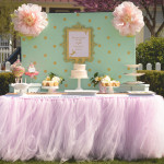 Tutu Ballerina Themed Baby Shower Ideas