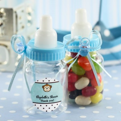 Personalized Baby Bottle Favor