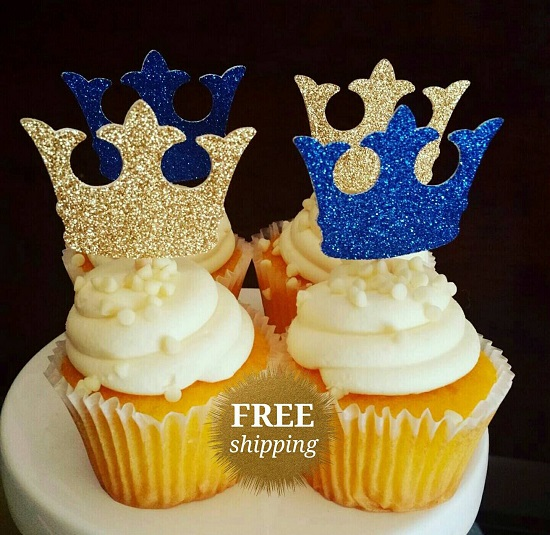 prince-baby-shower-glitter-royal-prince-decorations