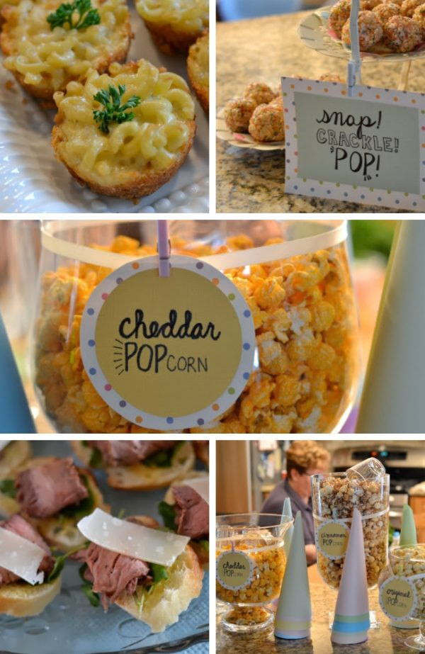 Ready to POP - POPcorn Baby Shower Theme