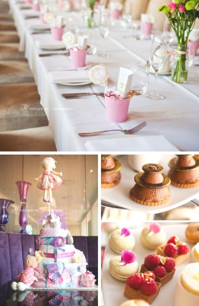 Showers of Love High Tea Baby Shower Tablescape
