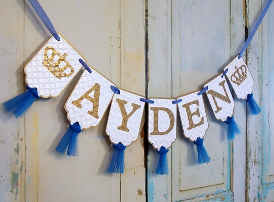 white-blue-and-gold-banner-with-tulle-prince-banner