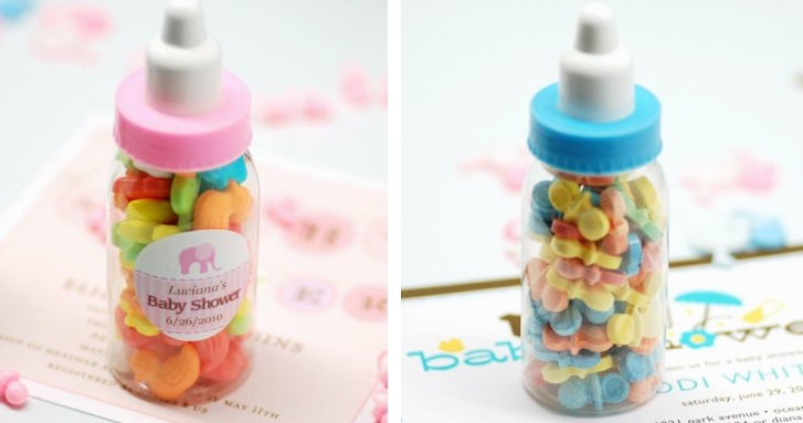pacifier candy favors