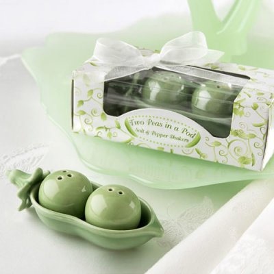 Two Peas in a Pod Baby Shower favor ideas