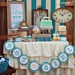 """Around the Clock"" Baby Shower Theme"