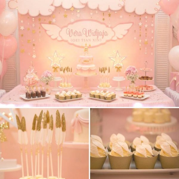 baby angel baby shower