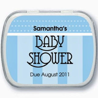 baby shower mint tins personalized