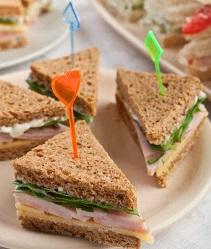 baby shower sandwiches