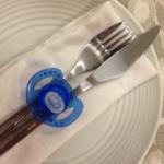 Pacifier Cutlery Holder