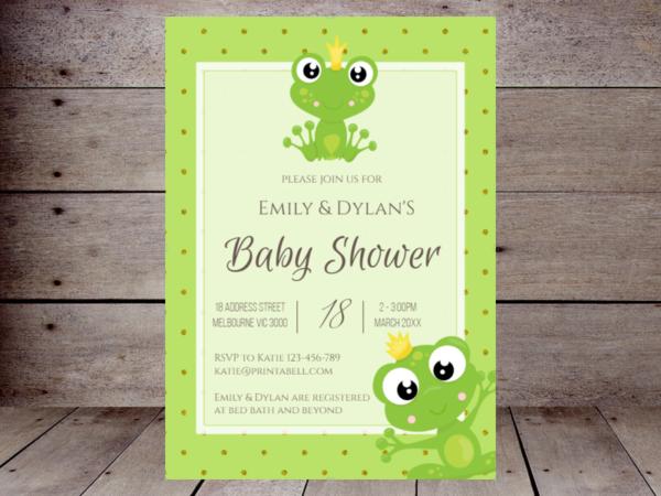 editable-prince-frog-baby-shower-invitation