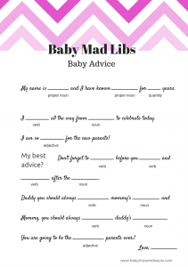 free-baby-shower-mad-libs-game-chevron-pink-211x300