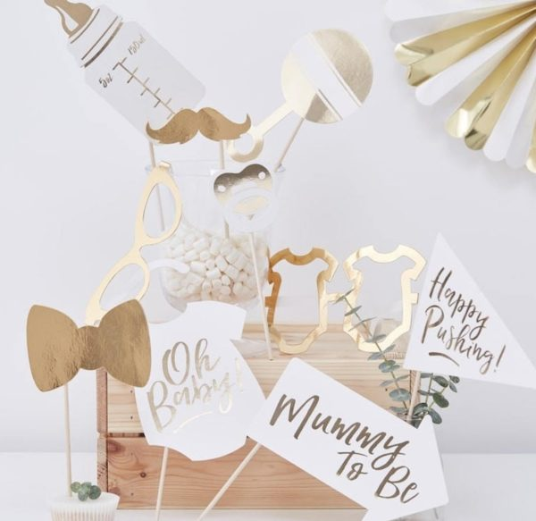 gold-foil-baby-shower-photobooth-props