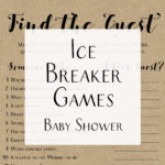 Easy Ice Breaker Baby Shower Game Ideas